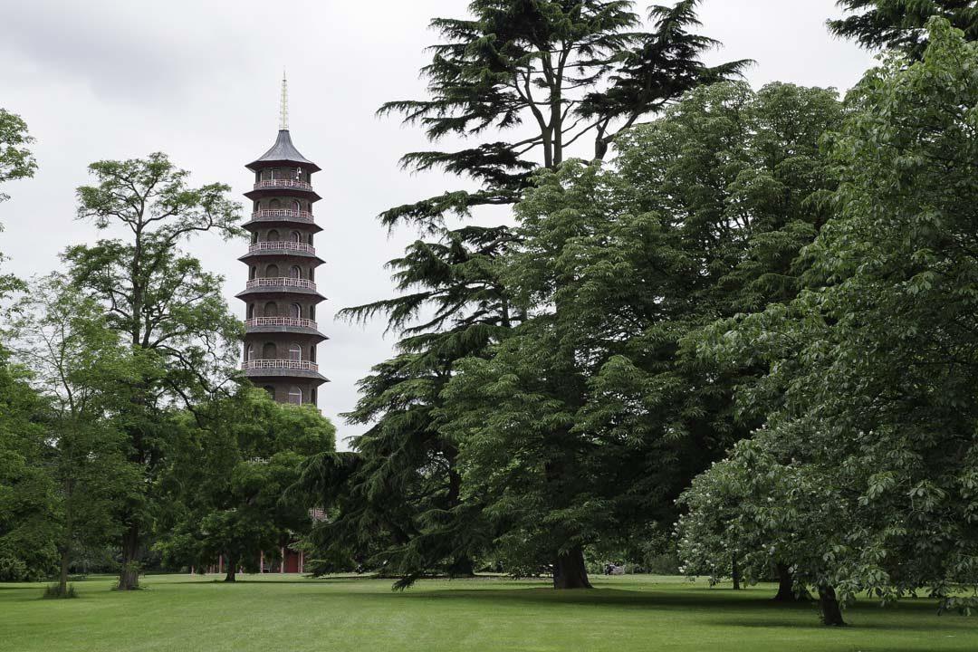 Pagode du jardin japonais de Kew Garden