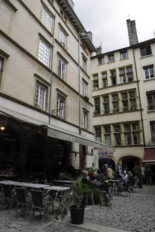 Le quartier du Vieux Lyon