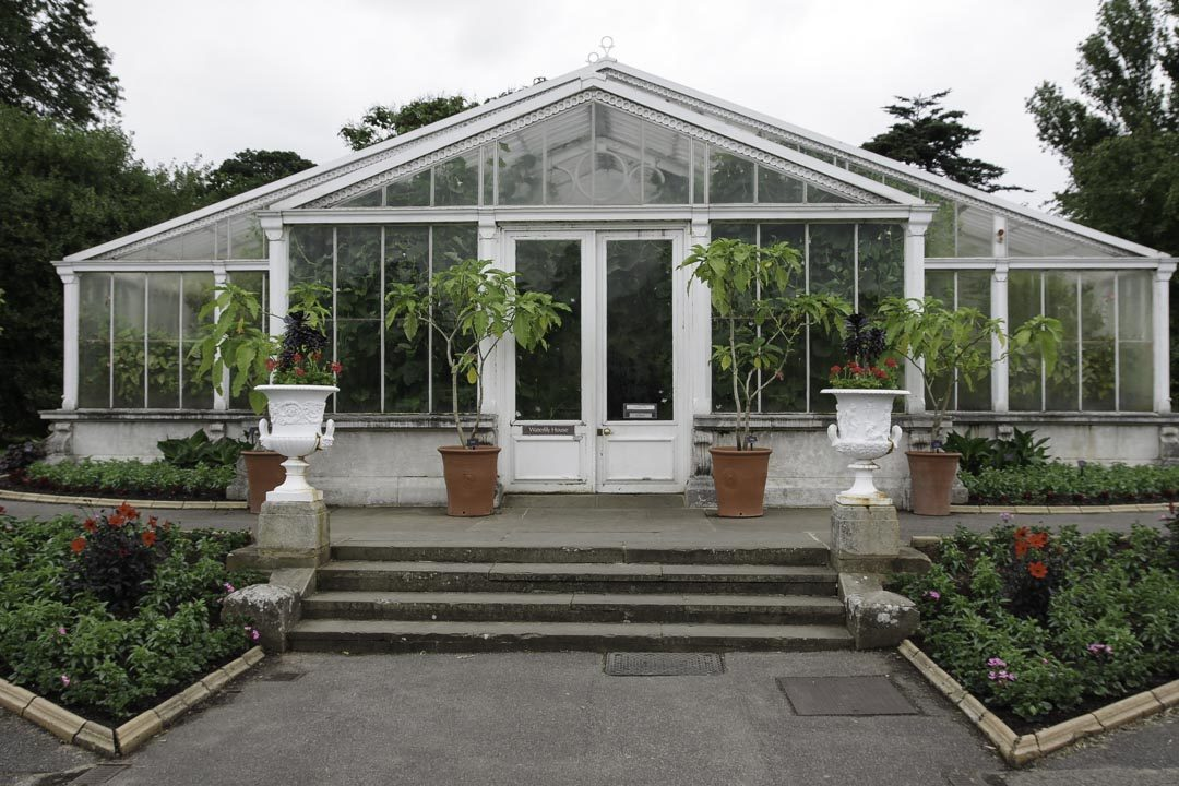 la serre des nénuphars - Kew Garden - Londres