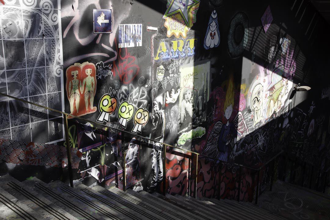 street art autour du Lavo-Matik