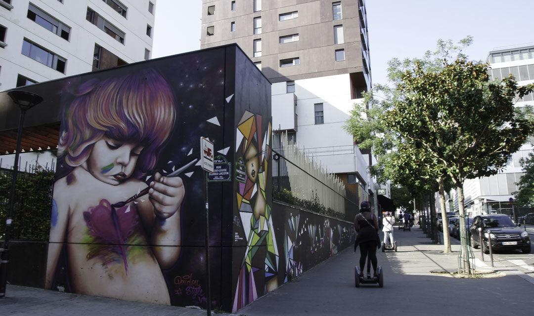 Visite guidée du street art en Segway avec Wheels and Ways
