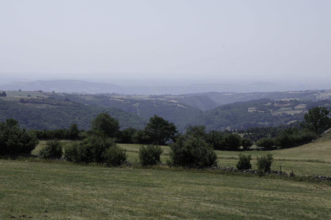 Panorama sur la vallée de Saint Chely d'Aubrac
