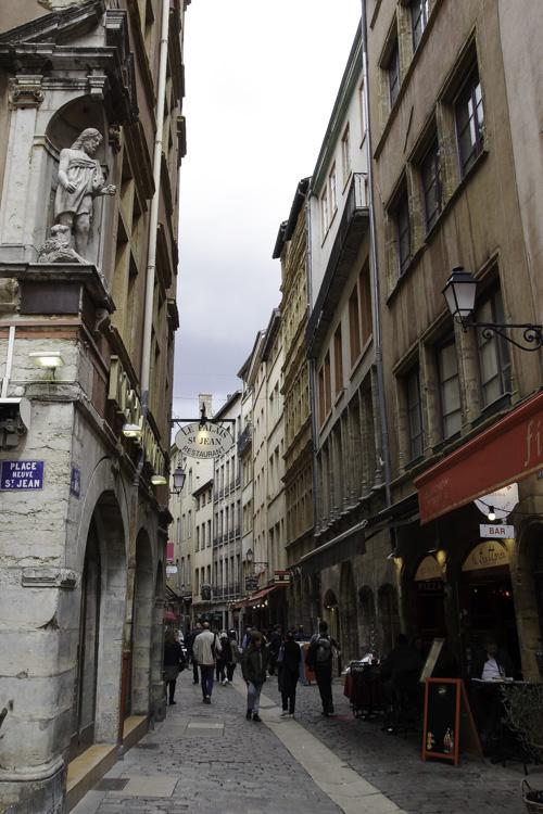 Rue Saint Jean - Le Vieux Lyon