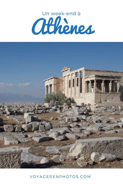 Un week end à Athènes : le programme pour découvrir le patrimoine antique et mes bonnes adresses