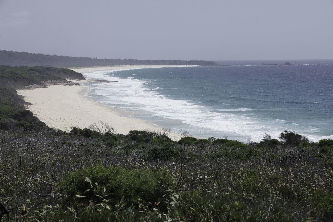 plage à Ben Boyd National Park