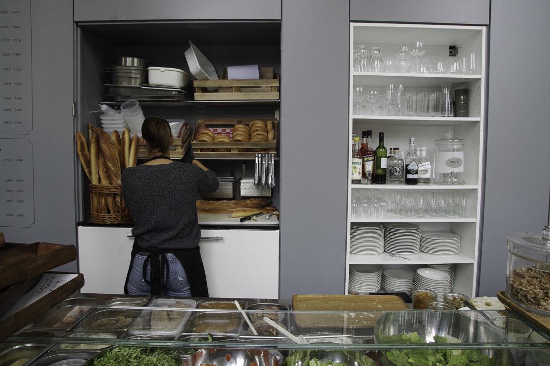 Cafétéria Madame Boverie à Liège