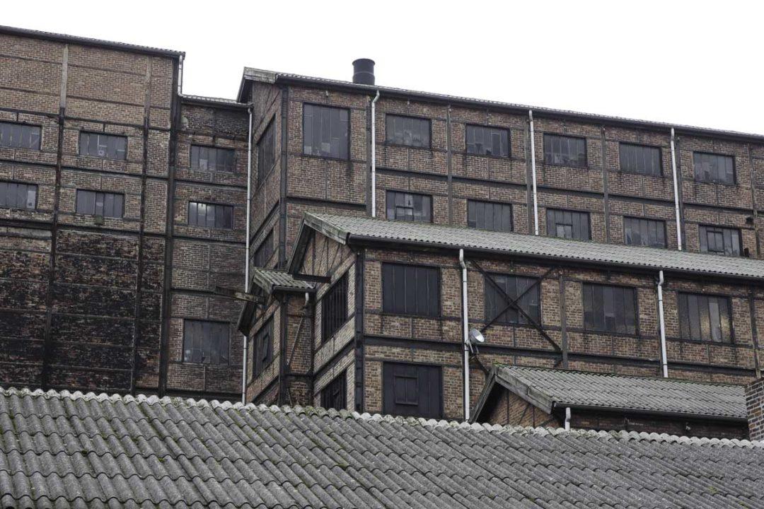 batiment administratif de Blegny-Mine