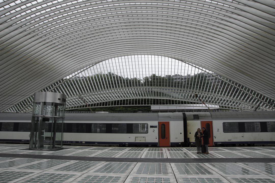 architecture de la gare des guillemins