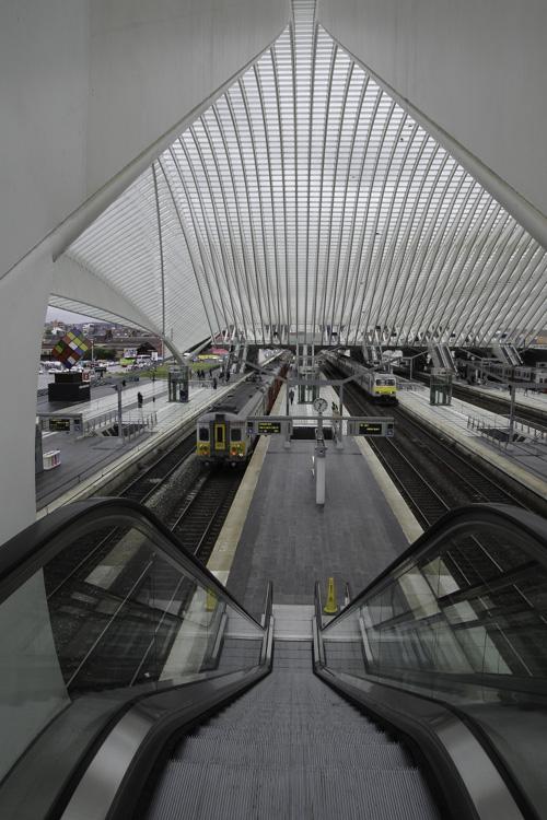 Gare des Guillemins à Liège
