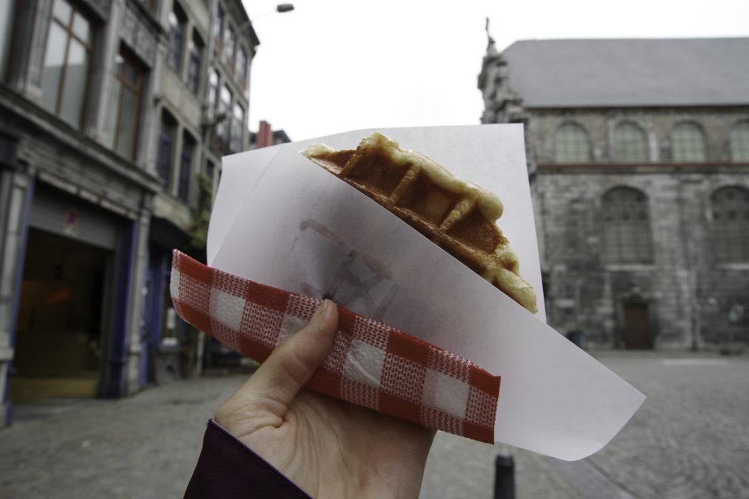 la véritable gaufre de Liège