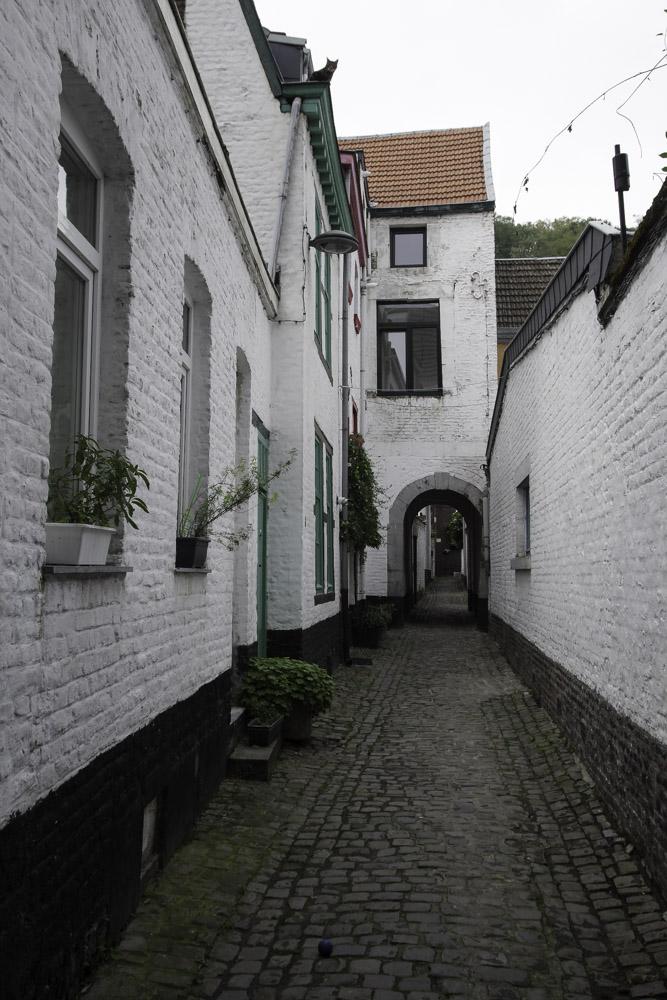 les impasses du Quartier Hors Château à Liège
