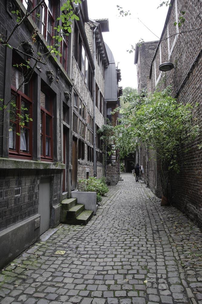 Une impasse du Quartier Hors Château à Liège