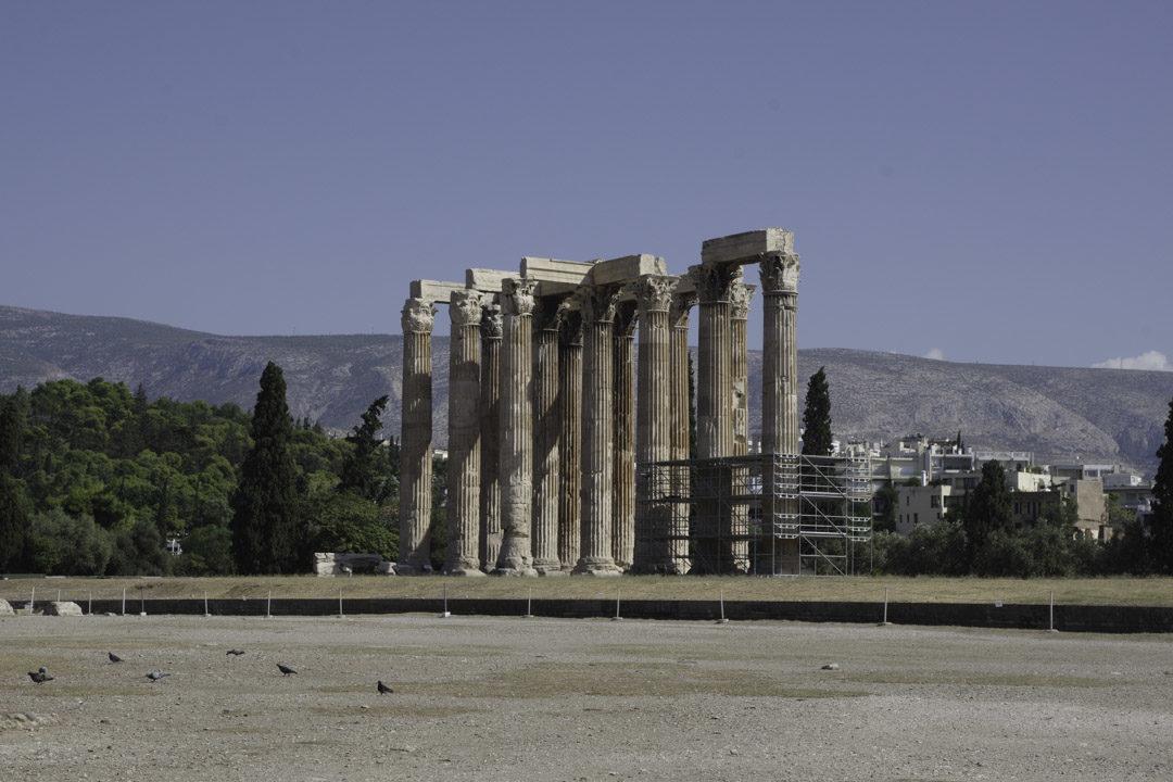 Olympeion - le temple de Zeus