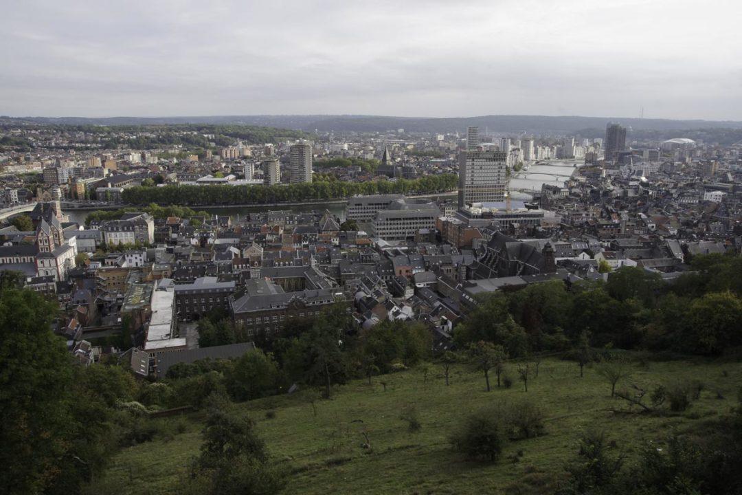 Panorama sur Liège depuis la Citadelle