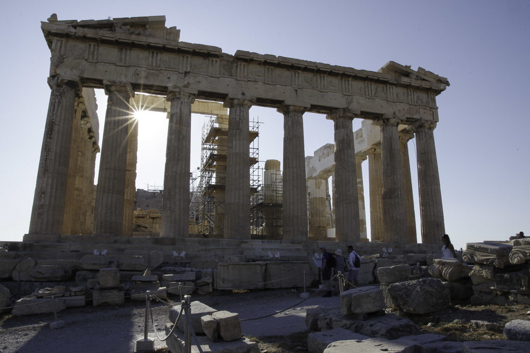 le Parthenon d'Athènes