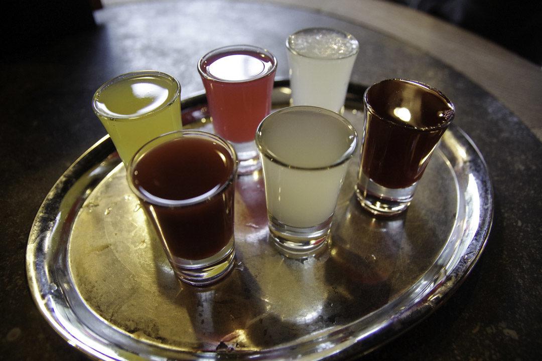 Sélection de Peket aromatisé