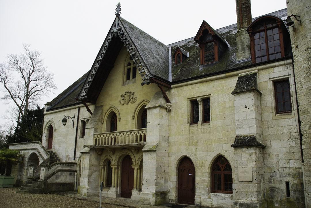 porterie - Entrée de l'Abbaye de Jumièges
