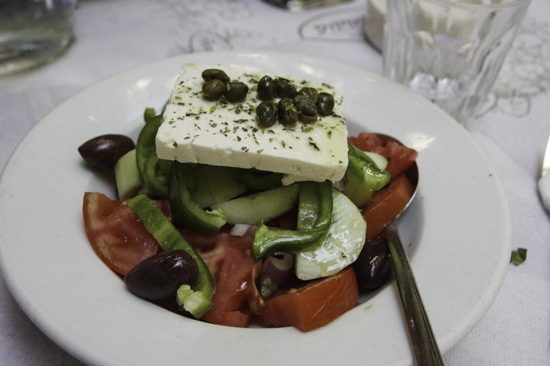 salade grecque - athènes