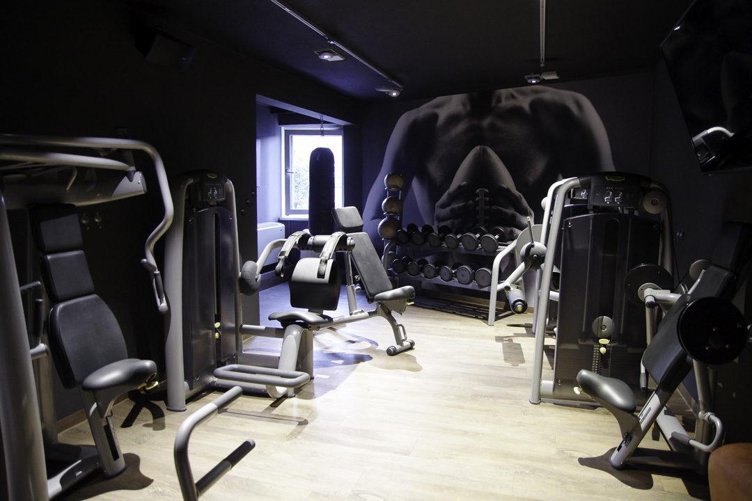 Salle de Sport du Pentahotel à Liège