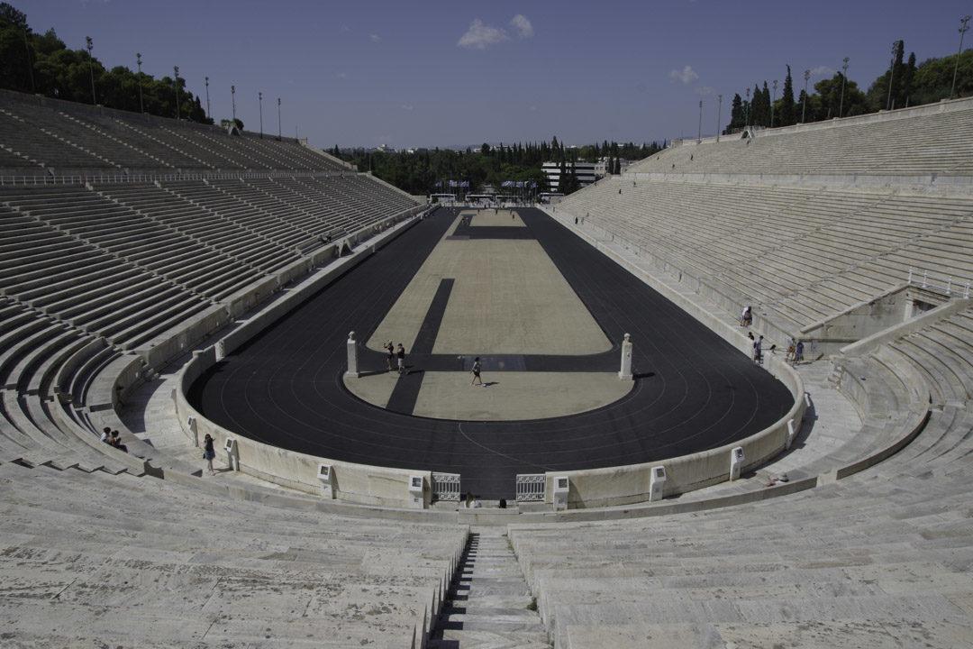 le stade Panathenaique d'Athenes