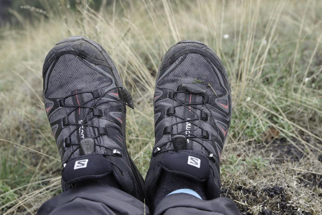 Test chaussures de randonnée Salomon