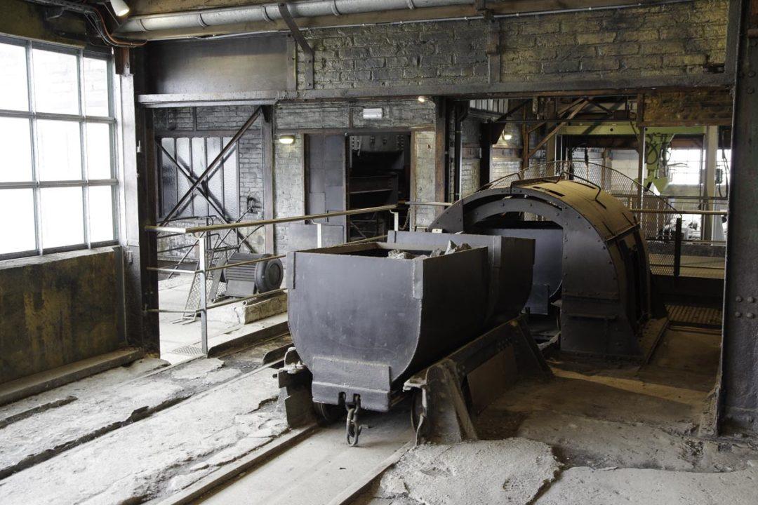 gare de triage pour le charbon