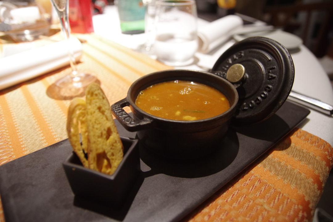 soupe de poisson - restaurant Barachois