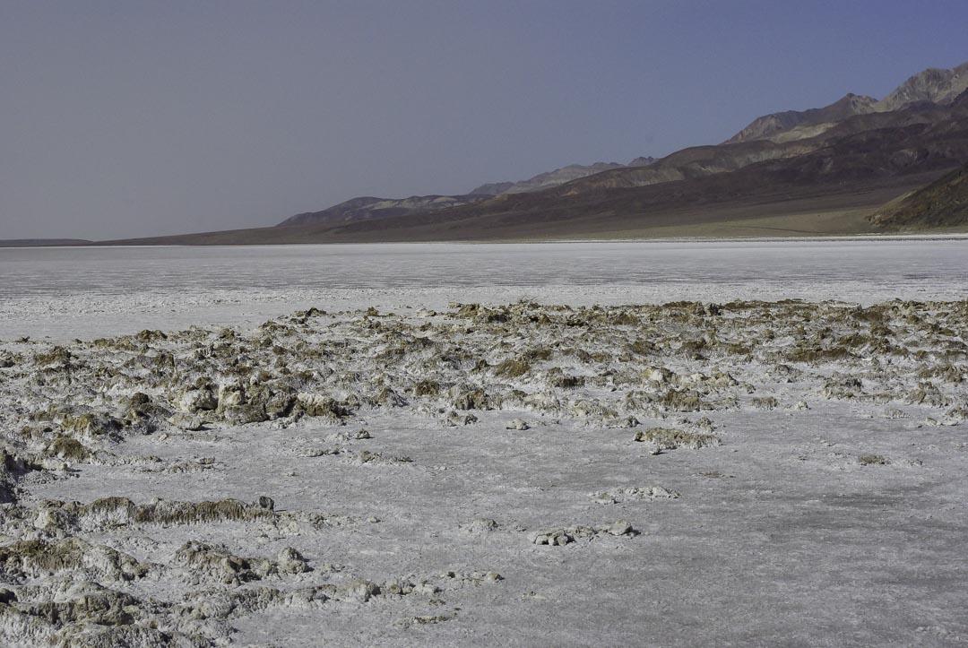 lac salé de badwater bassin - Vallée de la Mort