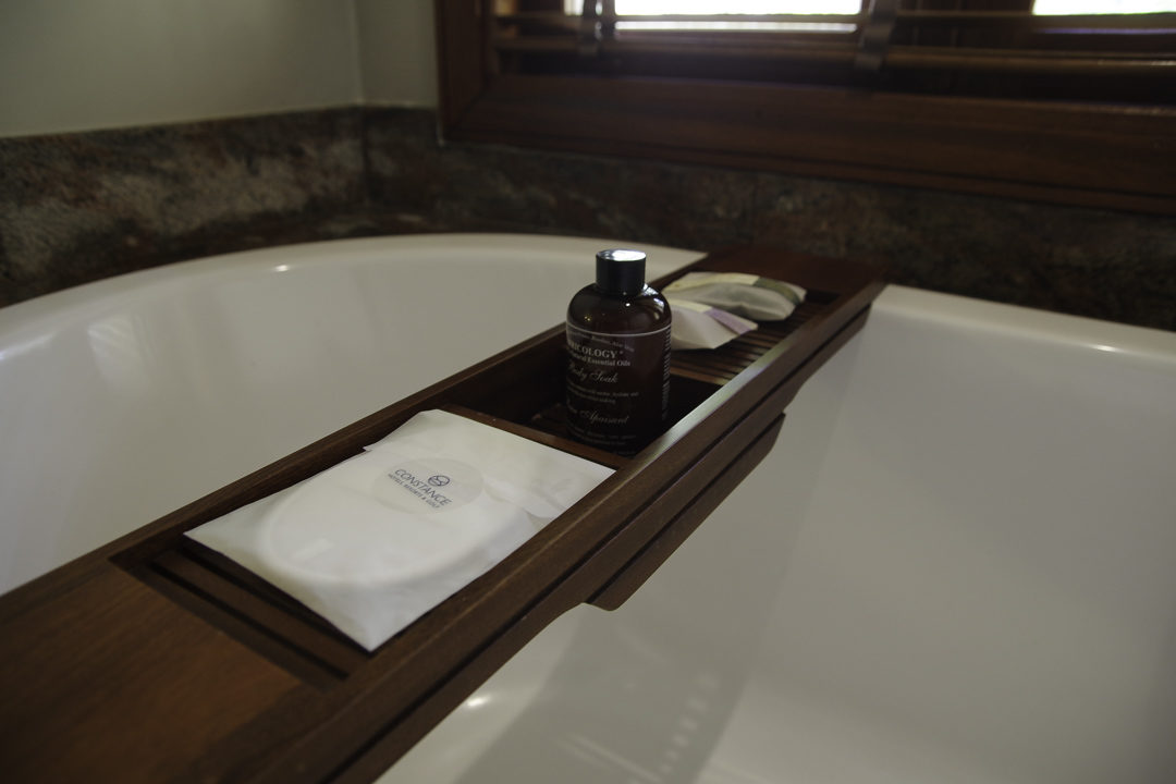 détail de la baignoire - Prince Maurice