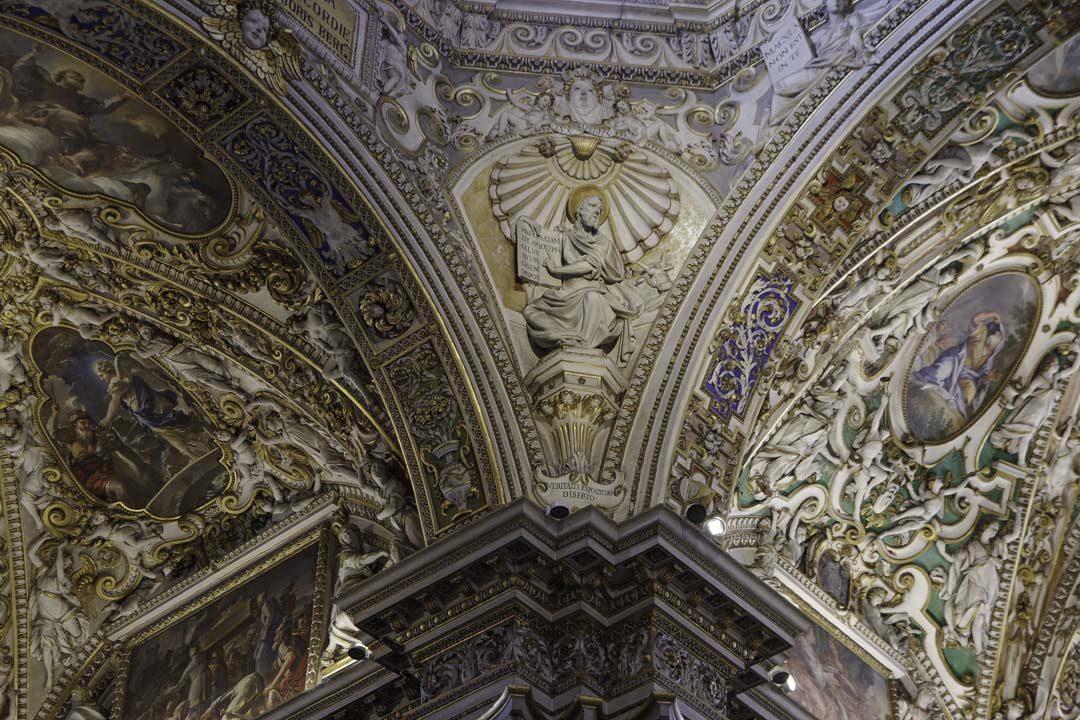 détail - Basicila Santa Maria Maggiore - Bergame
