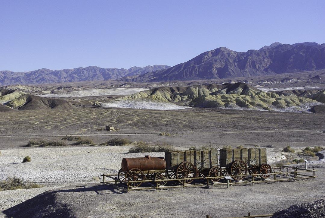 Locomotive Borax - Vallée de la Mort