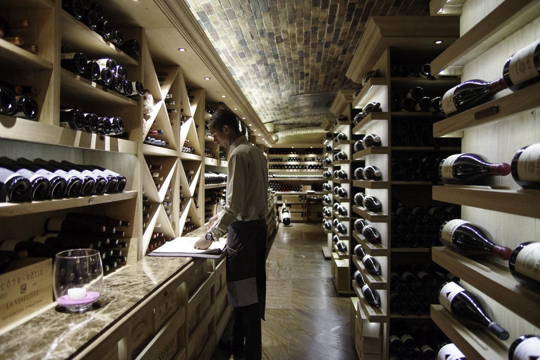 Cave à vins du Constance Prince Maurice