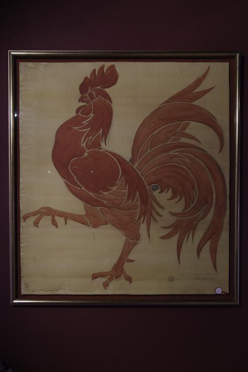 Coq Hardi symbole de la Wallonie
