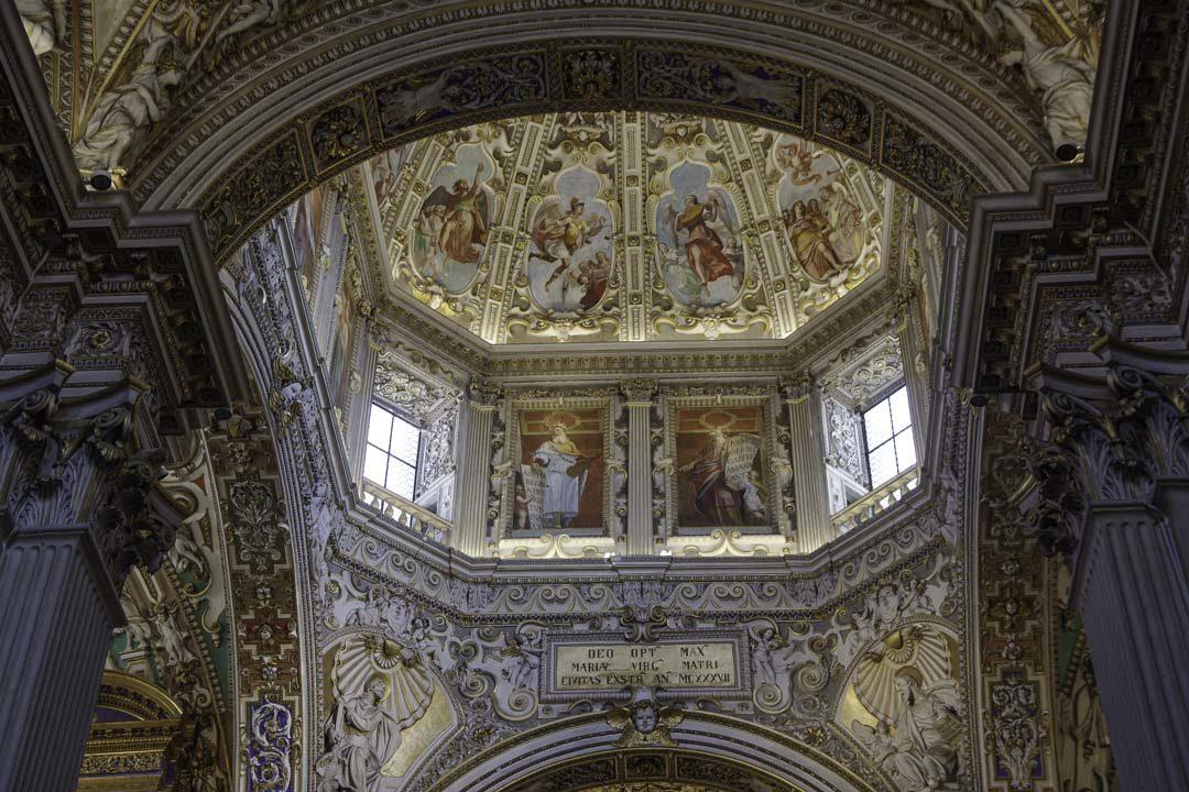 Coupole - Basicila Santa Maria Maggiore - Bergame