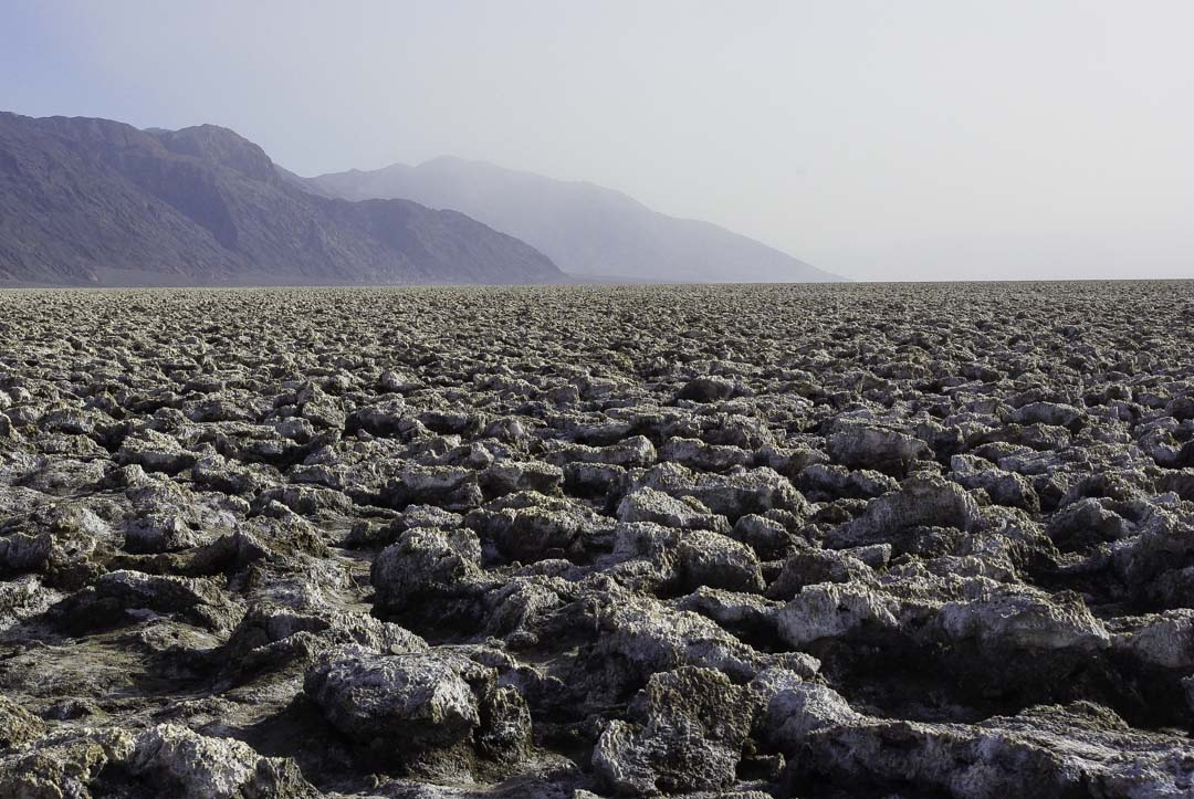 Devil's Golf Course - Death Valley