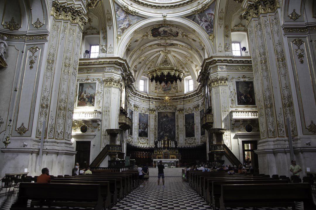 Nef du Duomo de Bergame