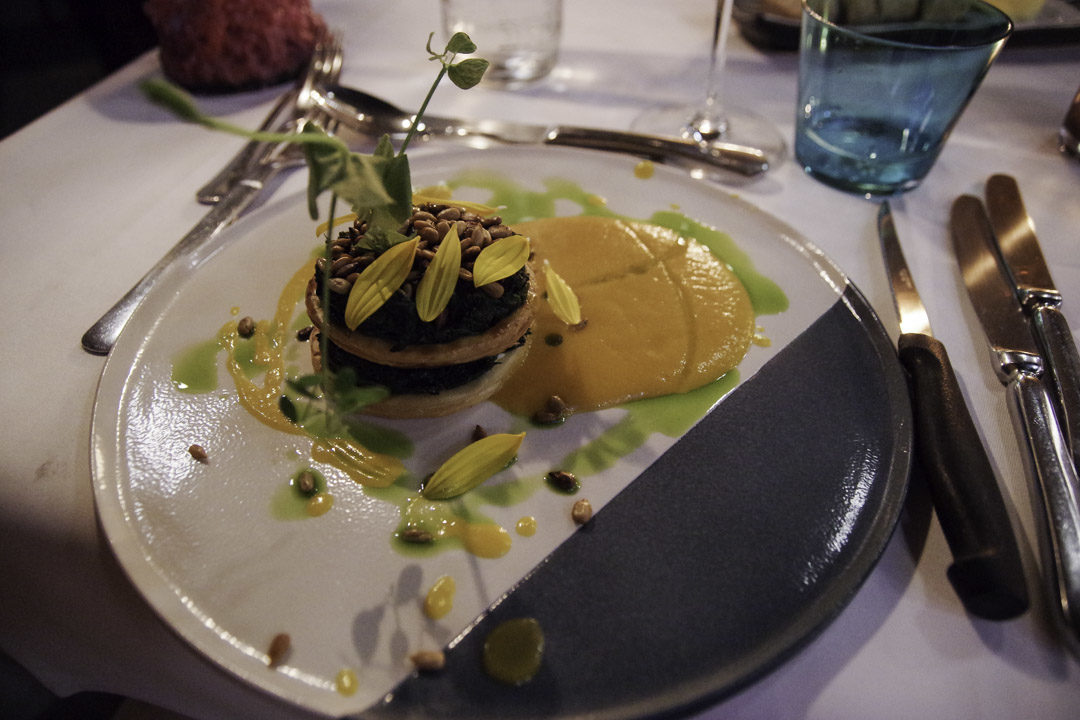 feuilleté - restaurant le Thème à Liège