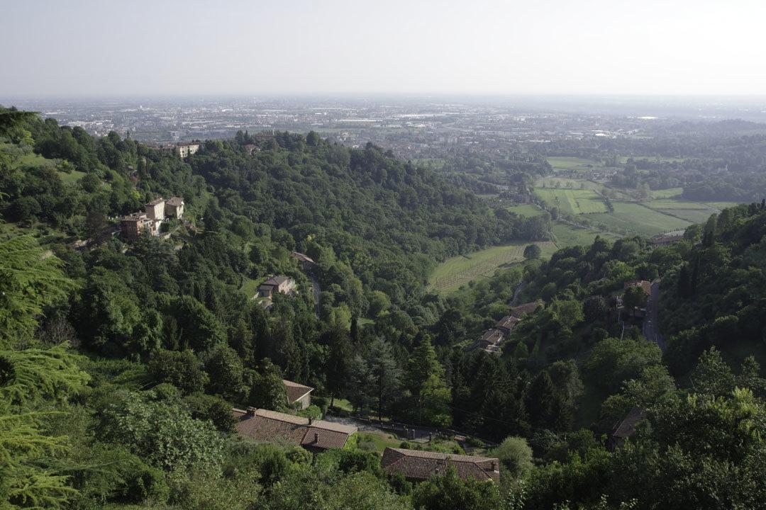 Balade dans le parc des Collines autour de Bergame