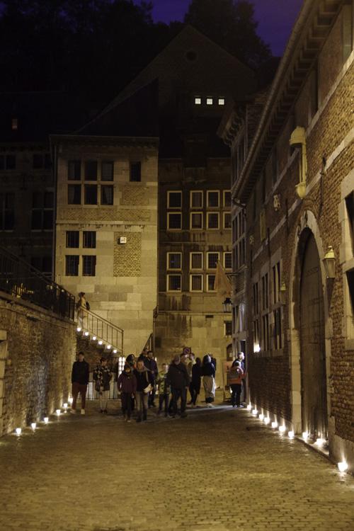 Illumination pour la nuit des coteaux de la citadelle