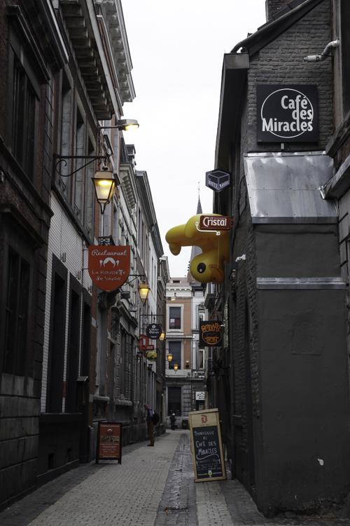 Quartier du Carré à Liège
