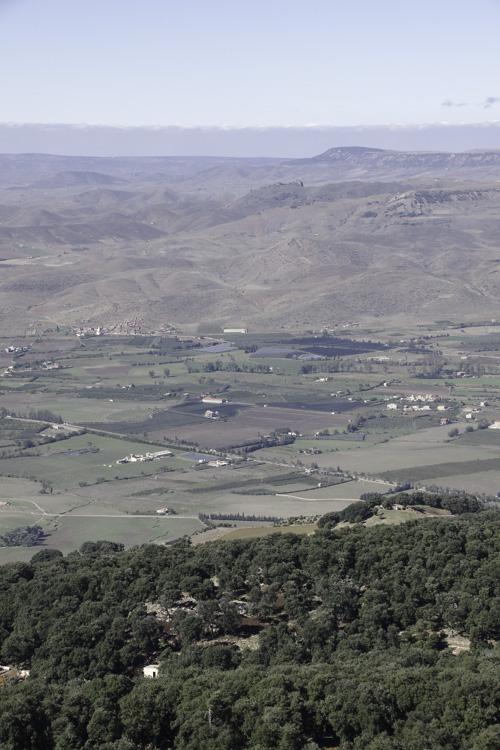Panorama depuis la falaise d'Azrou