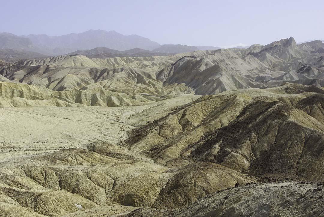 Paysage désertique de la Death Valley