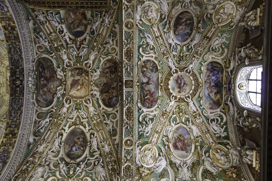 plafond de la Basilique Santa Maria Majeure