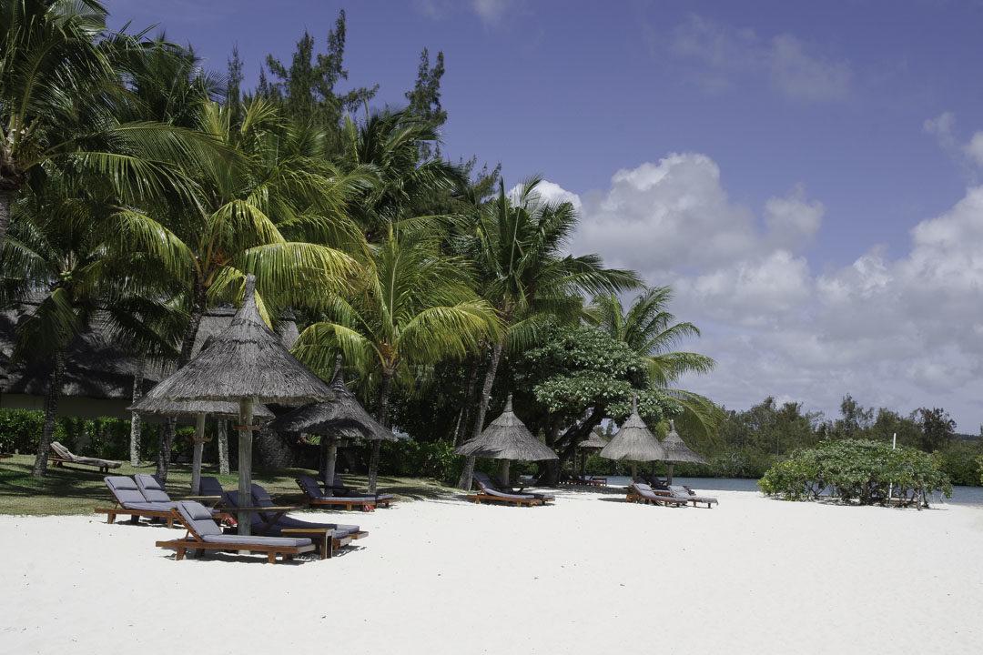 matelas de plage de l'hôtel Constance Prince Maurice
