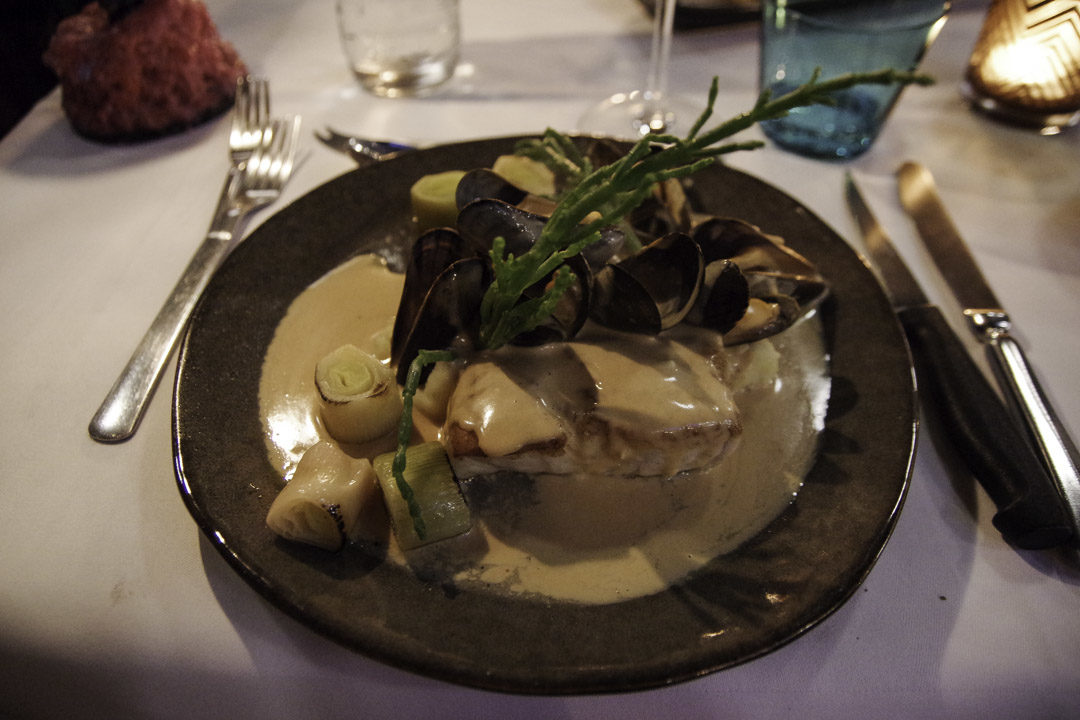 poissons et moules de zélande