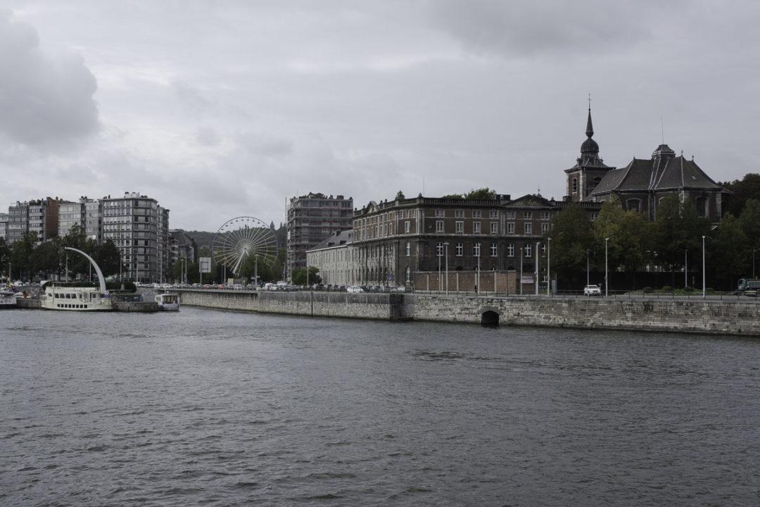 Liège - Balade le long des quais de la Meuse
