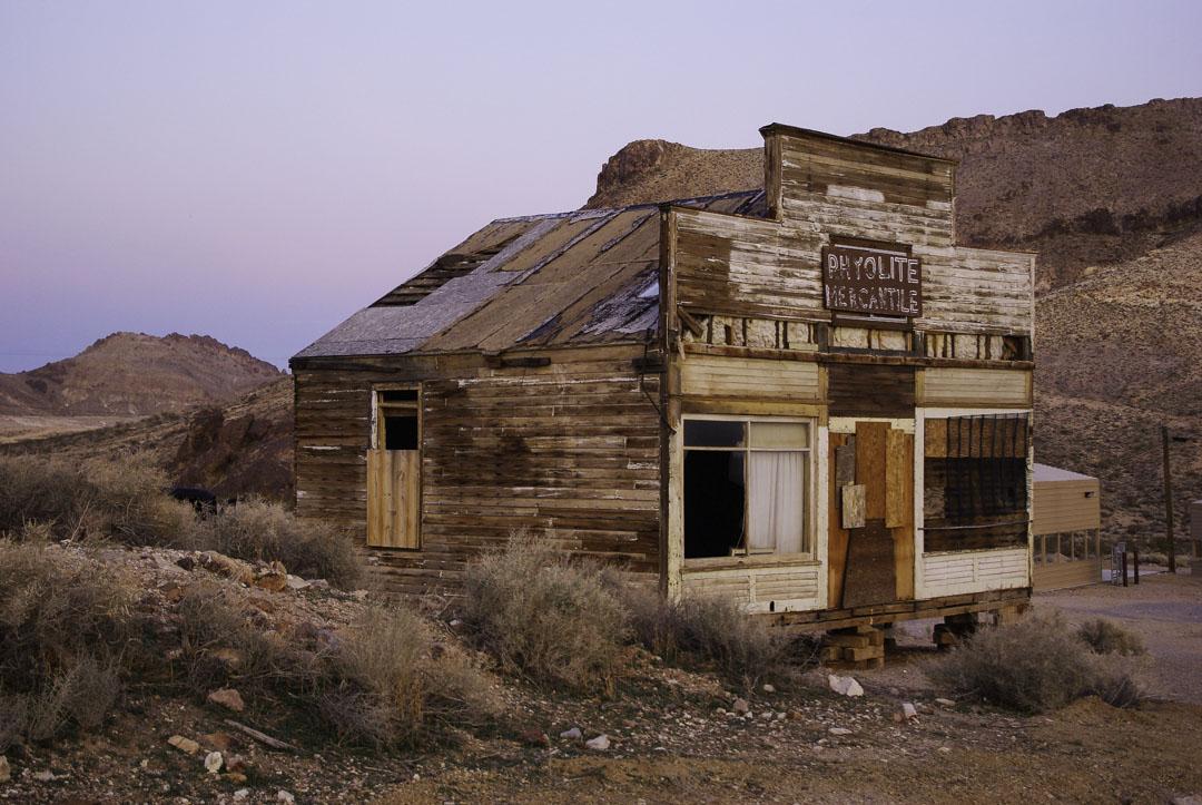 Village fantome de Rhyolite - Nevada