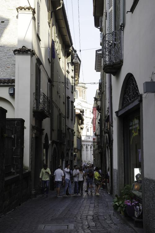 Via colleoni - bergame