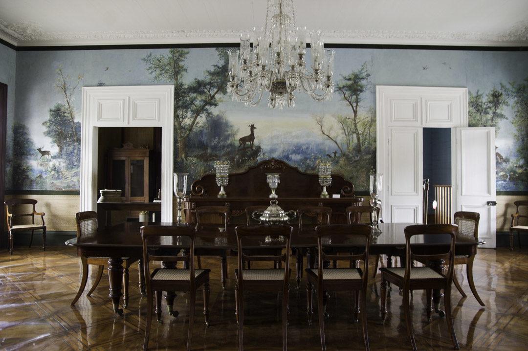Salle à manger - chateau de labourdonnais