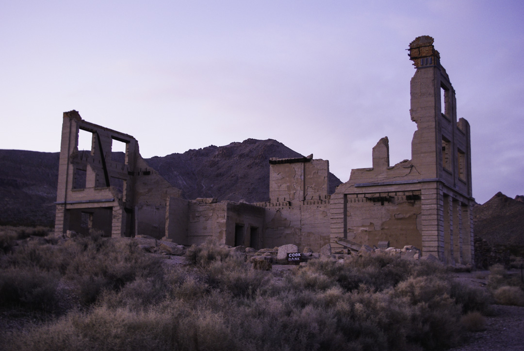 Rhyolite Gost Town - Nevada